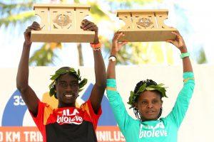 "Corredor de Uganda ""pulveriza"" recorde no 33º 10 KM Tribuna FM-Unilus"