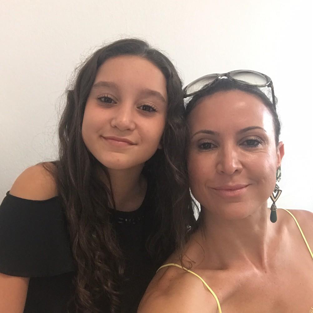 Maureen Maggi e a filha, Sophia