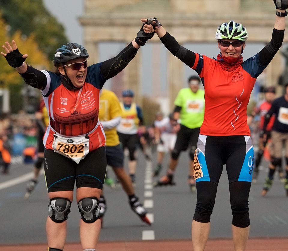 Evento foi inspirado na Maratona de Berlim In line Foto: Divulgação Maratona de Berlim