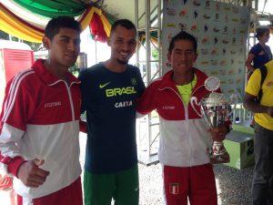 Samuel Nascimento representa o Brasil no Sul-Americano de Maratona