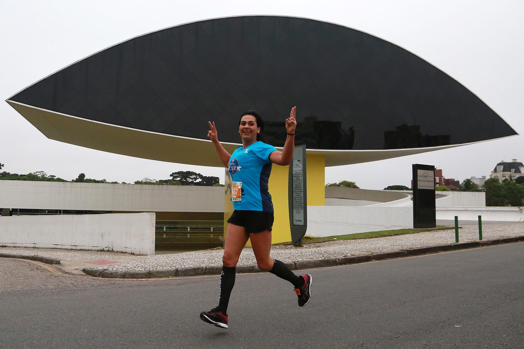 Museu Niemeyer integra o percurso. Foto: Luiz Doro /adorofoto/HT Sports