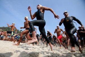 Você sabe como é feita a organização das maratonas aquáticas?