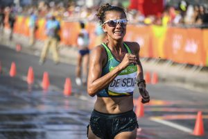 2018: Erica Sena foi o destaque da marcha atlética