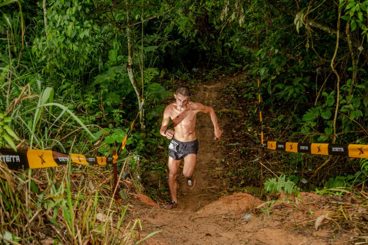 Antônio Gonçalves, o campeão de 2018 no Trail Run 21 km /Foto: Bruno Meneguitti