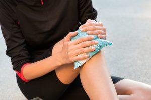 A utilização do gelo em lesões ortopédicas