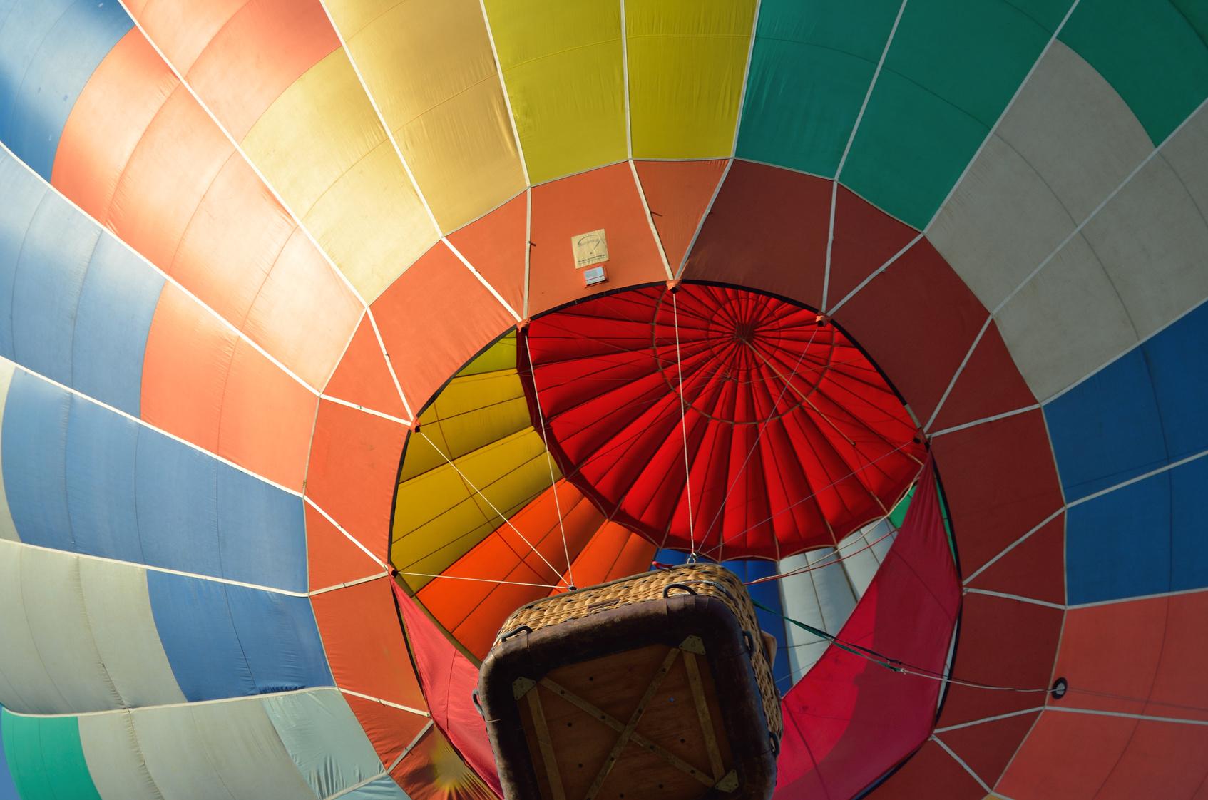 Conheça o sul de Minas num passeio de balão | Foto: Lucio / Fotolia