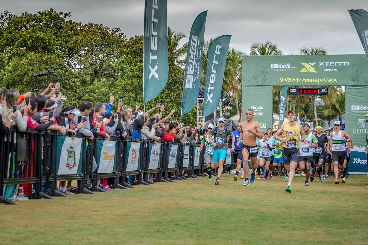 Largada de Trail Run 21k em Costa Verde 2018 Foto: Divulgação