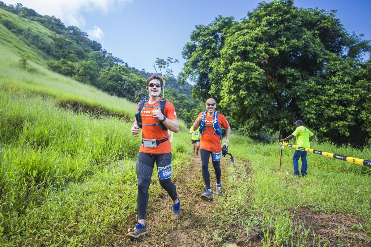 O ator Nicolas Prattes e o coreógrafo Fly Vagner já correram no XTERRA em Mangaratiba Foto: Divulgação