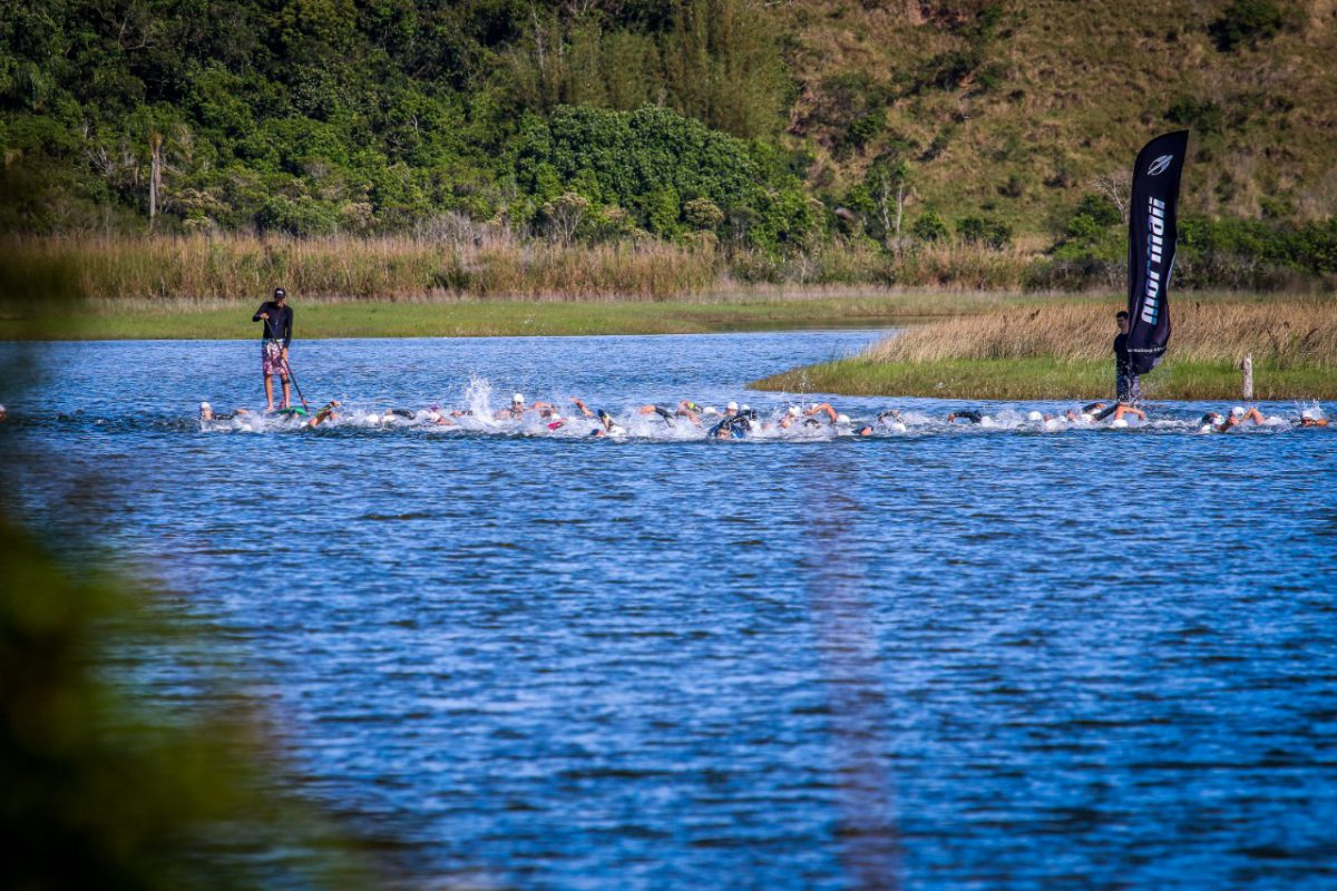 Swim Challenge 1,5 km no mar de Imbituba/ Foto: Foco Radical