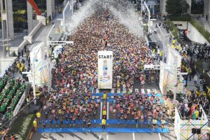 Japonês bate recorde nacional e ganha 1 milhão de dólares na Maratona de Tóquio