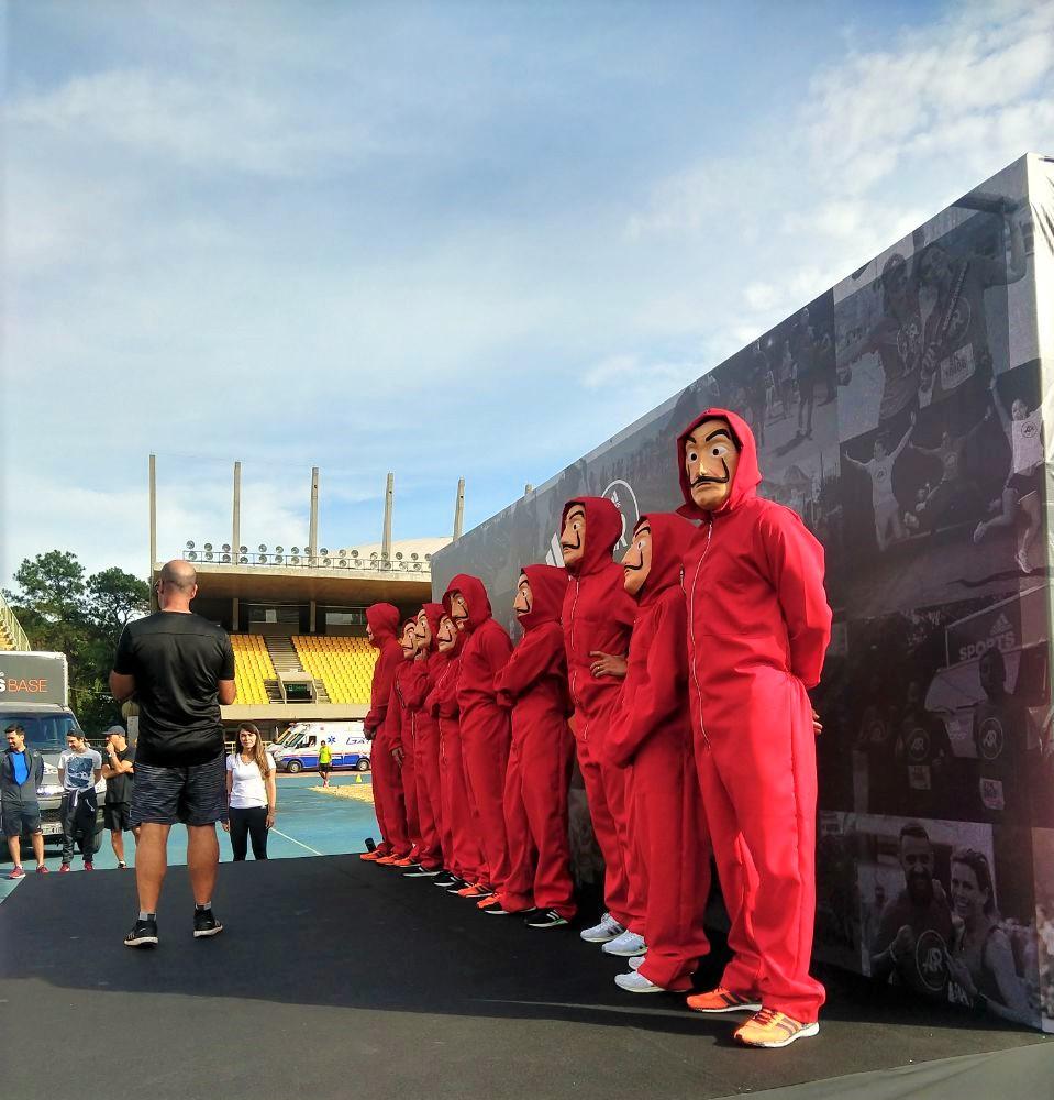 Identidade dos corredores foi divulgada neste sábado (12) Foto: Matheus Abreu/Webrun