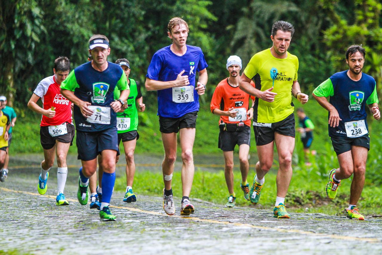 O tradicional percurso de 20k virou uma meia maratona Foto: Divulgação