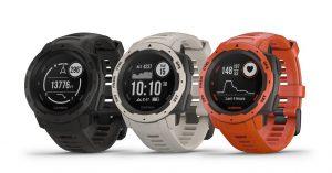Garmin InstinctTM: um smartwatch robusto com GPS projetado para uso multiesporte