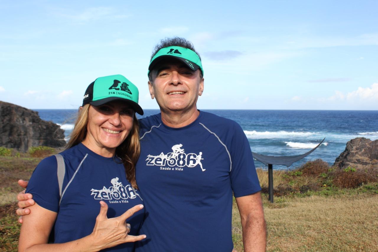 O casal corredor Foto: Christina Volpe/Webrun