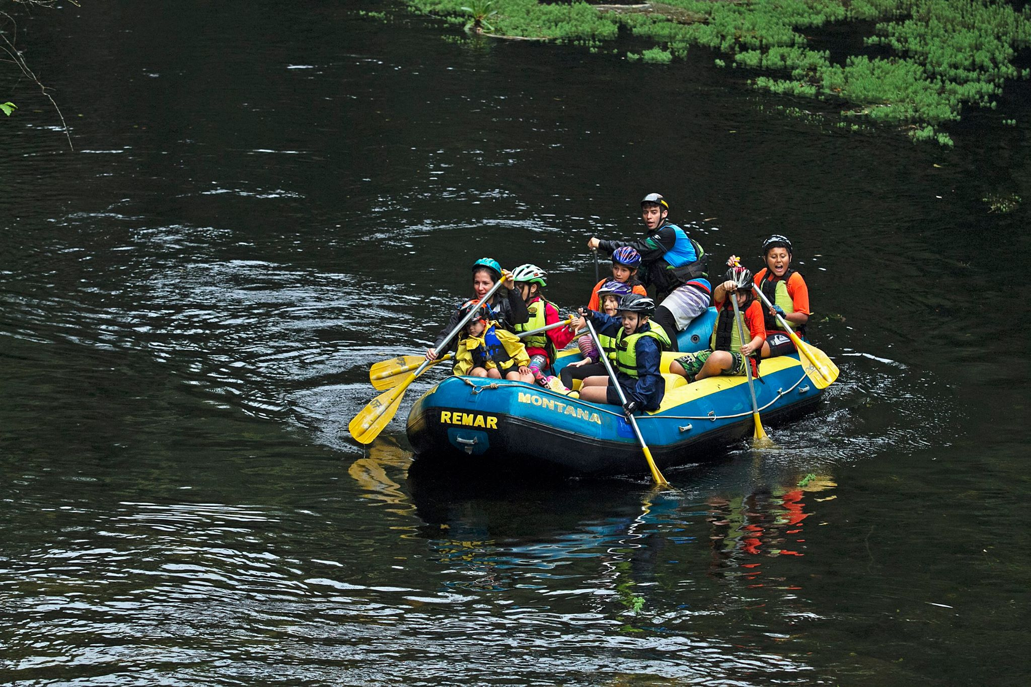 Prova Kids de Canoagem do Adventure Camp | Foto: Divulgação