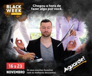 Ticket Agora terá maior Black Week de inscrições do Brasil