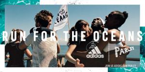 Run For The Oceans: adidas e Parley usam o poder do esporte para criar conscientização sobre a ameaça da poluição marinha