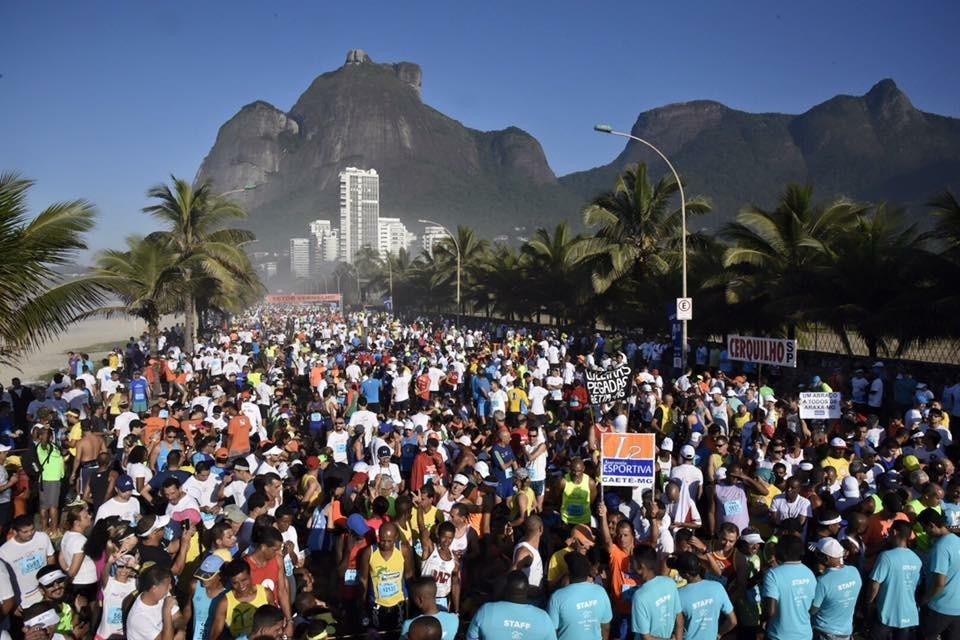 Com opções de 21k e 5k, sua chegada é no Aterro do Flamengo Foto: Divulgação