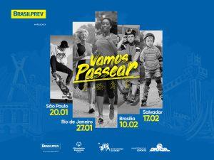 Evento de caminhada, bike, patins e skate abre inscrições por R$ 20