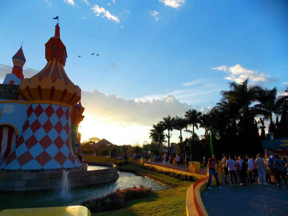 Parque já tem mais de 15 anos de história! Foto: Divulgação Facebook