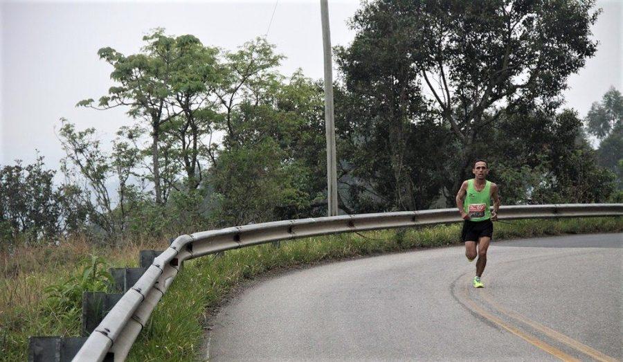 Marcelo na última edição da Uphill Marathon Foto: Christina Volpe/Webrun