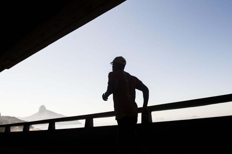 Corredores poderão participar dos 21 km no sábado (2) e 42 km no domingo (3) Foto: Thiago Diz/Maratona do Rio