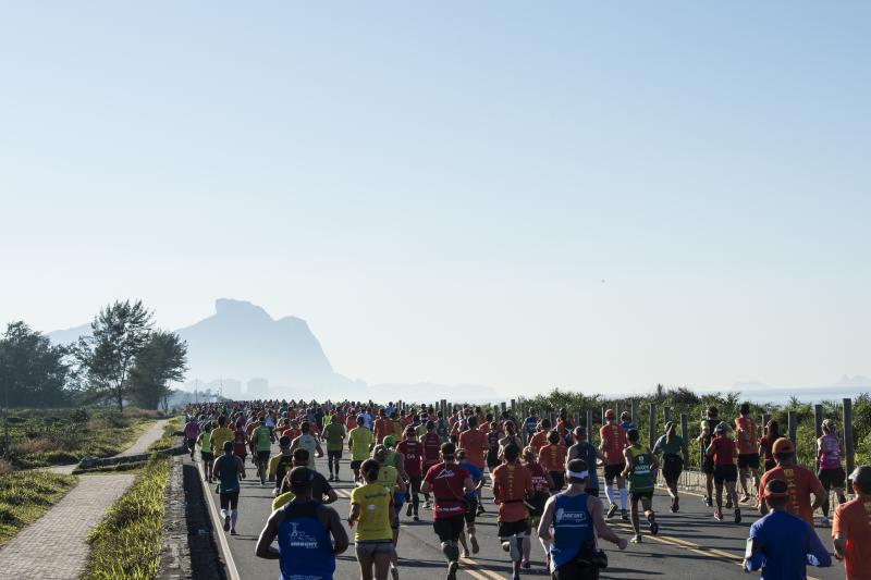 A nova prova de 10 km será disputada junto à tradicional corrida de 6 km, ambas no domingo Foto: Thiago Diz/Maratona do Rio