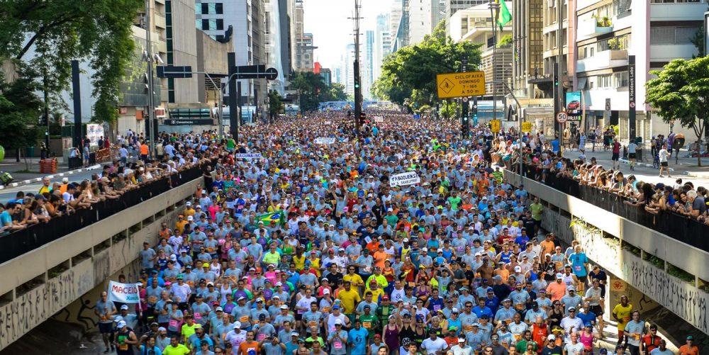 92ª Corrida Internacional de São Silvestre 2016, na Avenida Paulista, em São Paulo. Foto: Marcelo Ferrelli/Gazeta Press