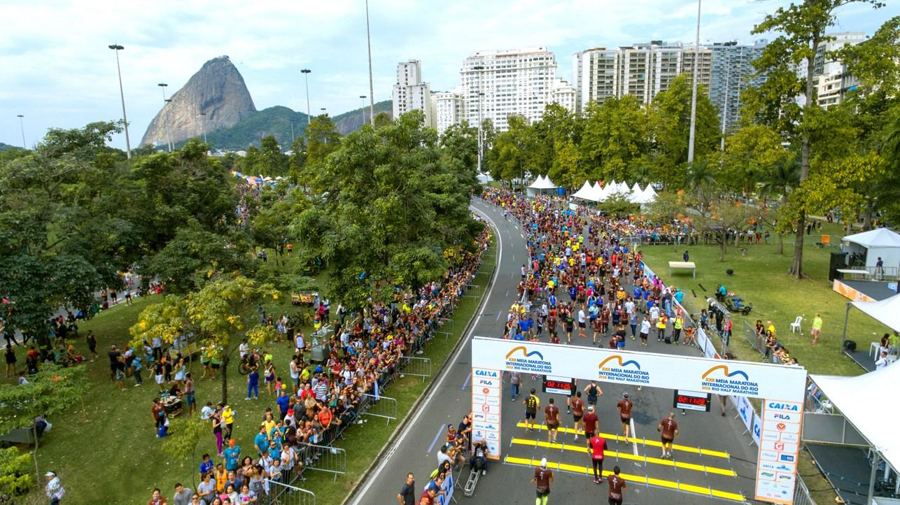 23ª Meia Maratona Internacional do Rio de Janeiro terá novo local de largada - Foto: Divulgação Yescom