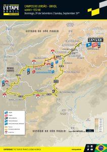 L'Étape Brasil by Le Tour de France divulga percurso inédito para edição 2019 - Foto: letapebrasil