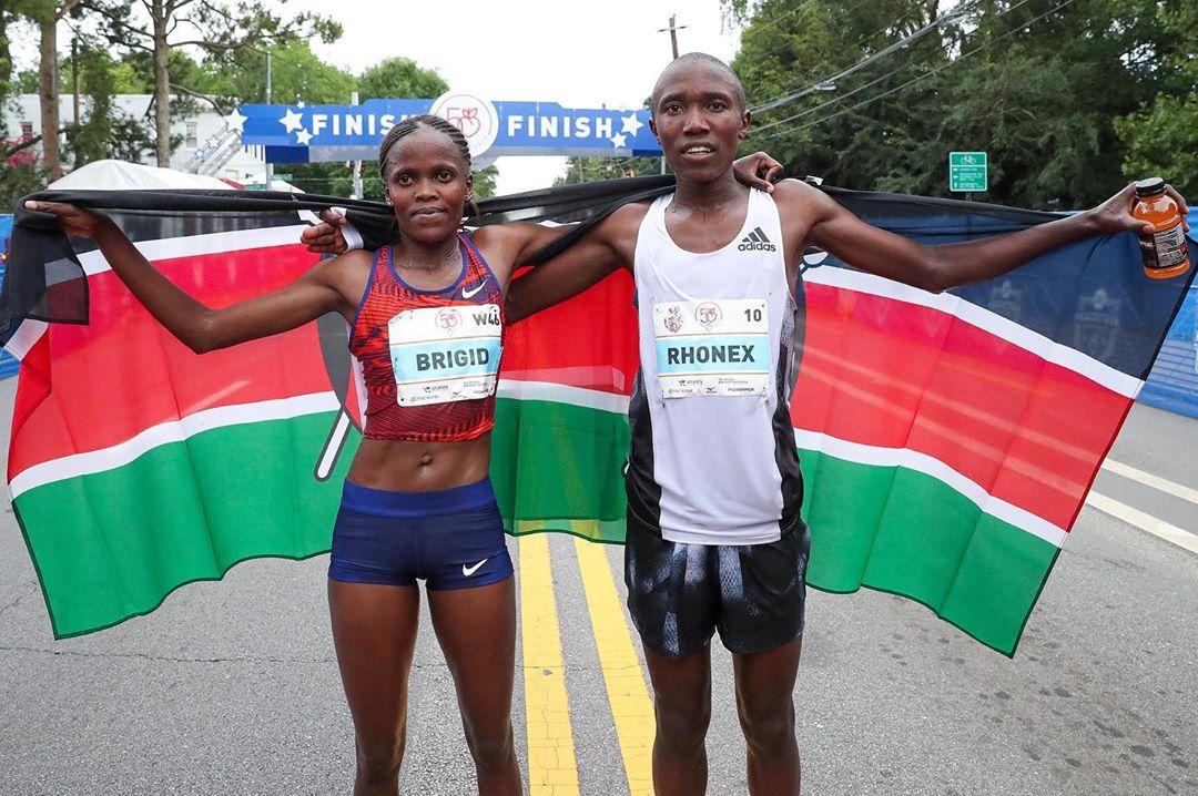Quenianos ganham prêmio de US$50.000 por quebrar recorde nos EUA