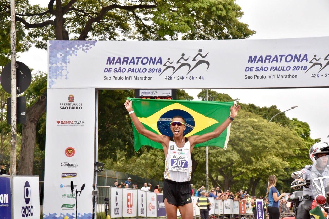 Solonei da Silva reforçará o atletismo nacional na Meia do Rio - Foto: Divulgação