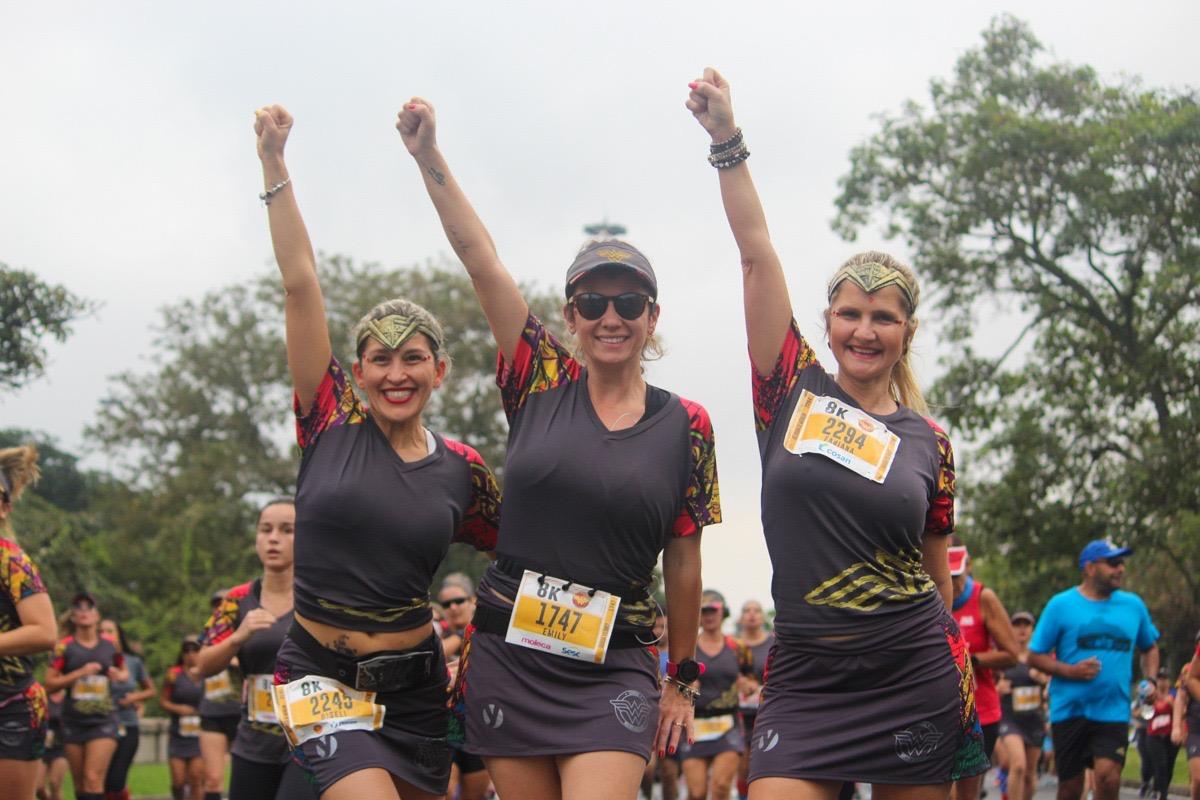 Corrida Mulher-Maravilha encantou Rio de Janeiro no último fim de semana