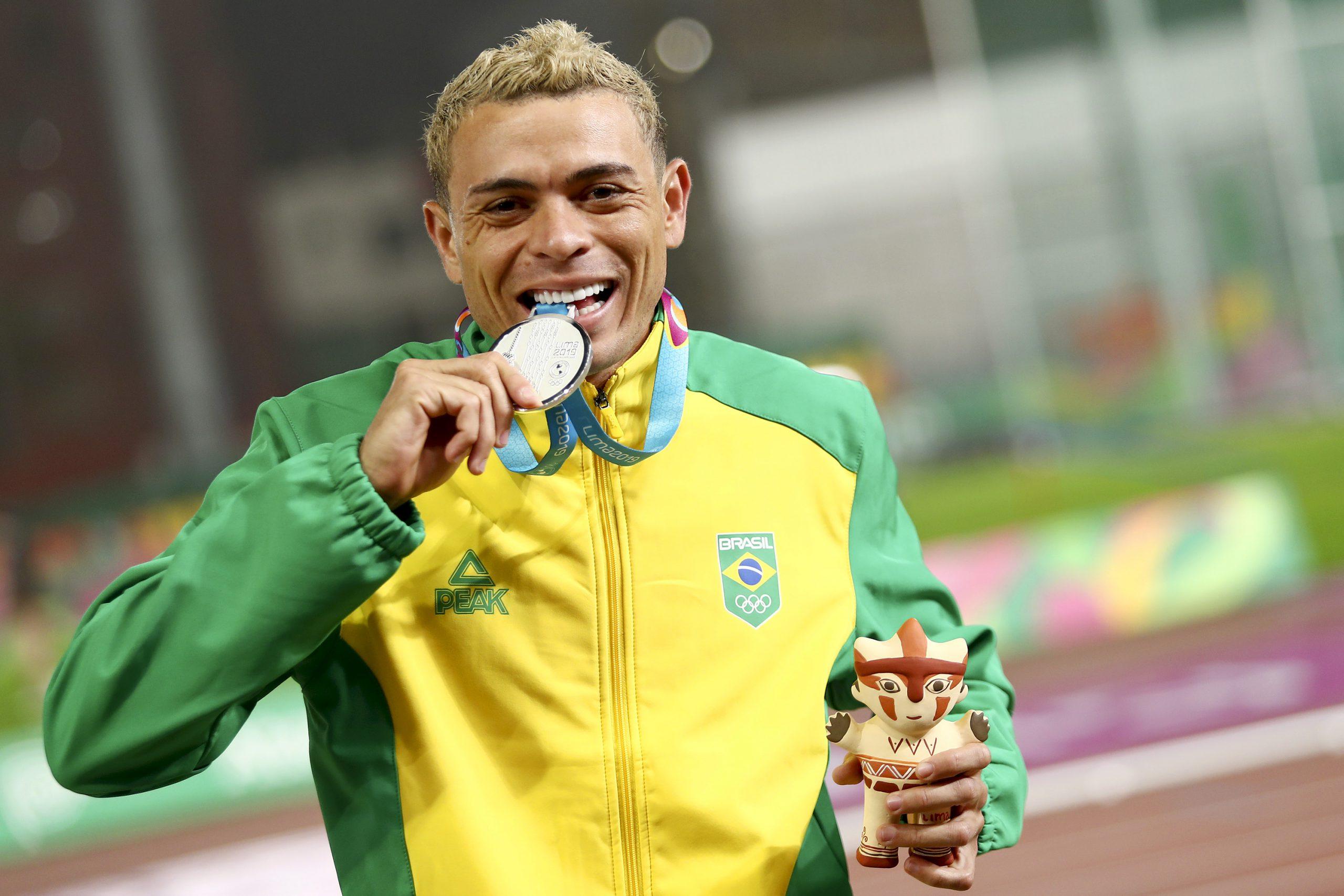 Brasil ganha mais três medalhas no atletismo do Pan de Lima