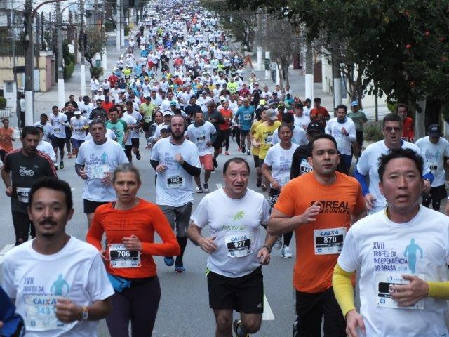 Falta apenas um mês para o XVIII Troféu Da Independência do Brasil 10 Km - Foto: Marcos Viana