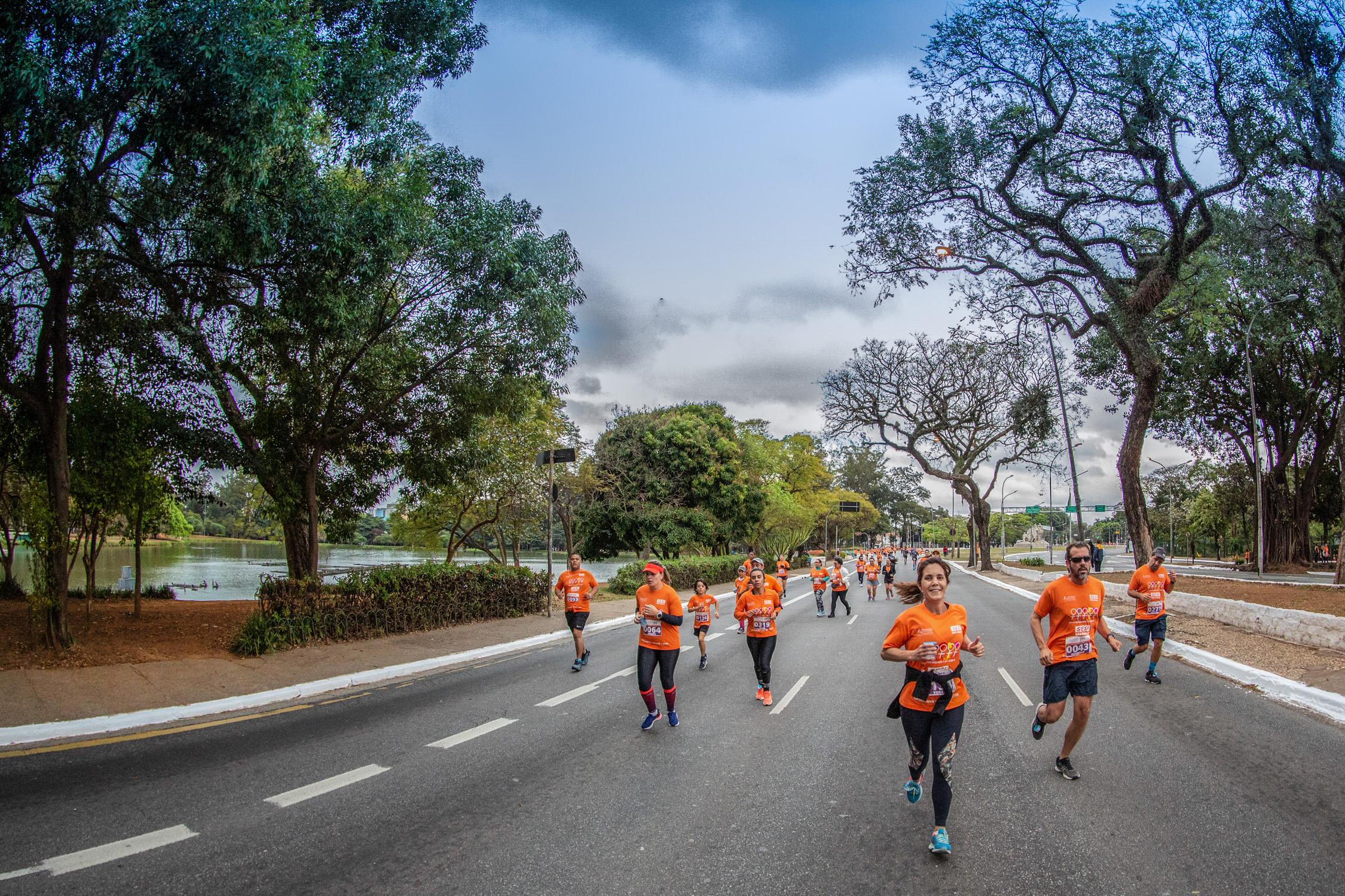Corrida Movimento Pela Mulher reúne mais de 1.500 pessoas em São Paulo
