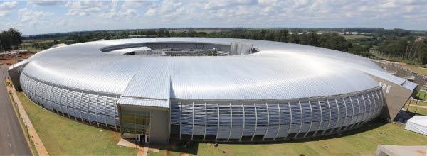 A arena do evento será montada no Sirius, o mais novo acelerador de partículas brasileiro. Foto: Bruno Peres/MCTIC.