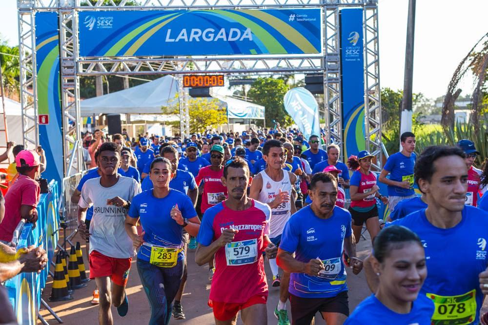 Circuito Sesc de Corridas promove corridas de rua em todo o país - Foto: Divulgação