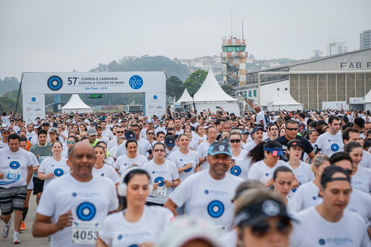 7 mil pessoas são esperadas na 58ª Corrida Contra o Câncer de Mama - Foto: Divulgação