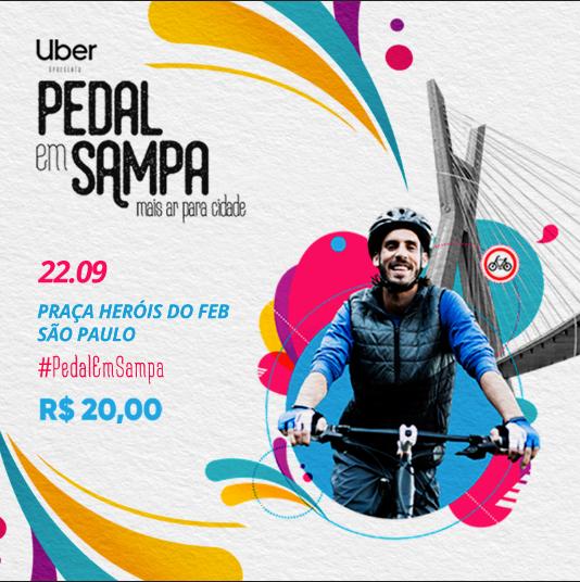 Pedal em Sampa promove passeio de bike em prol do meio ambiente - Foto: Divulgação