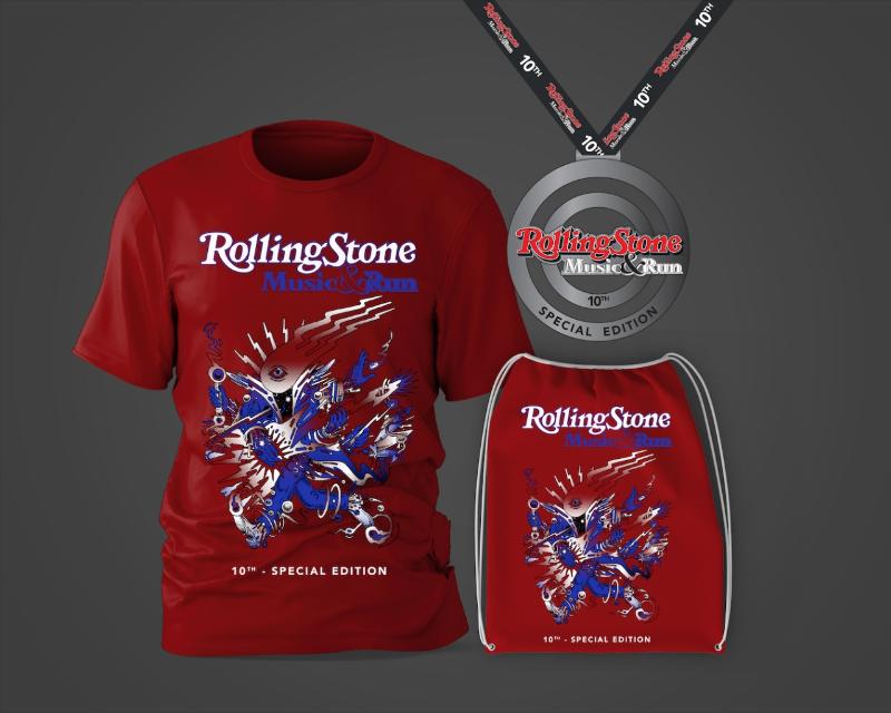 Estão abertas as inscrições da corrida Rolling Stone Music & Run Special Edition
