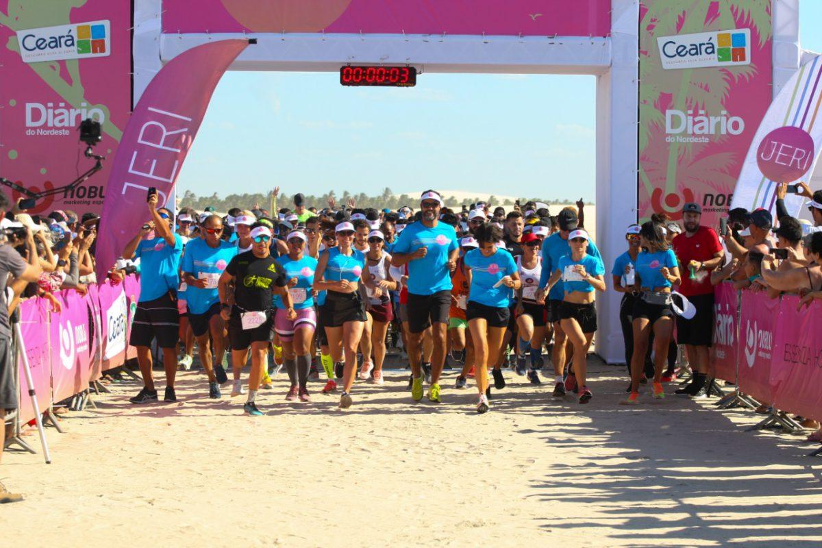 II Meia Maratona de Jeri uniu esporte e turismo em um cenário paradisíaco - Foto: Divulgação