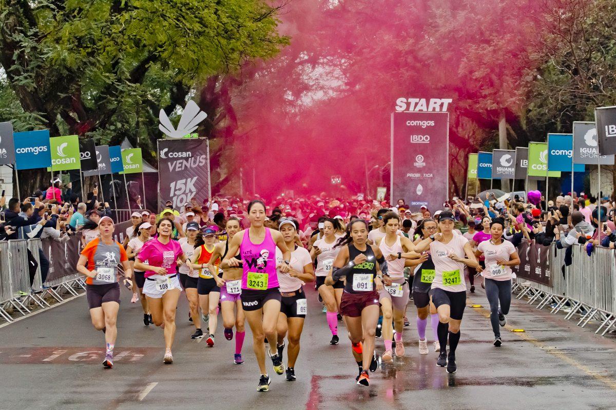 Cosan Venus 15K SP reúne mais de 8 mil mulheres nas ruas da capital - Foto: Divulgação