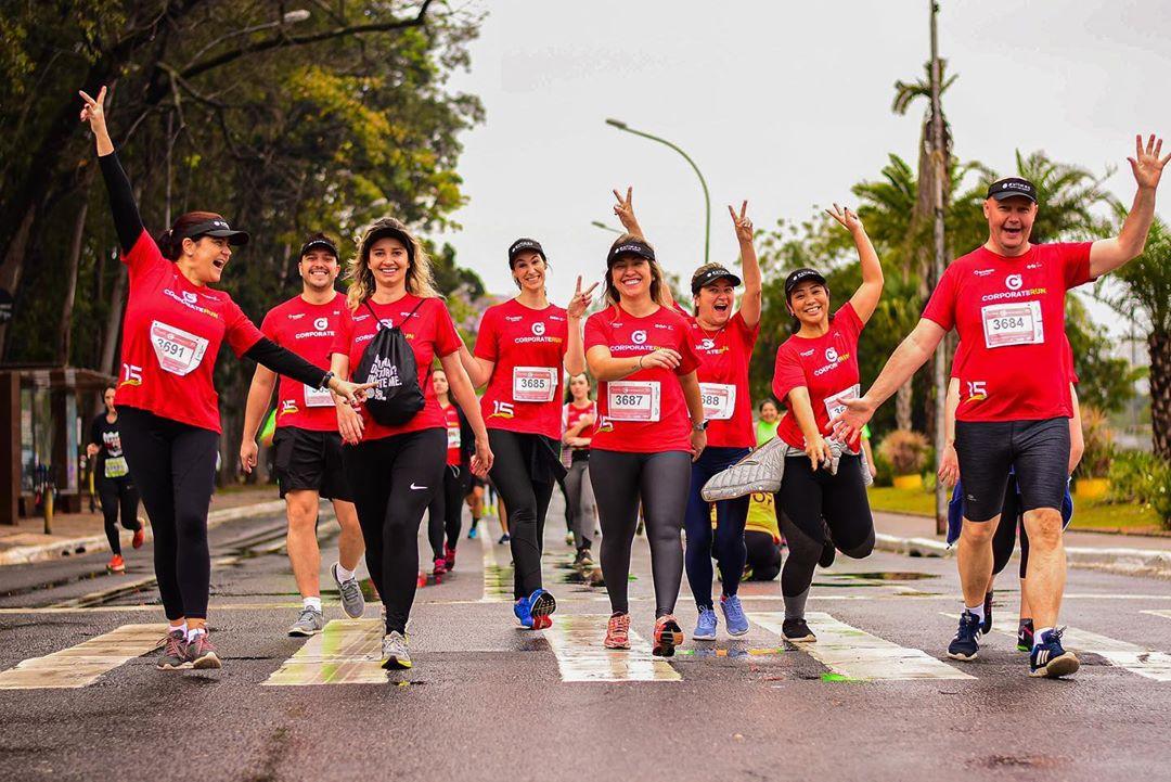 Conheça a Corporate Run RJ, a prova que coloca empresas para correr - Foto: Reprodução/Instagram