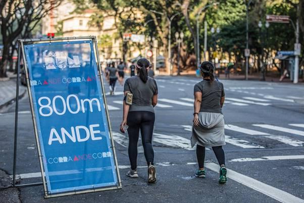 Cosan RWR São Paulo intercalou corrida e caminhada neste domingo - Foto: Divulgação