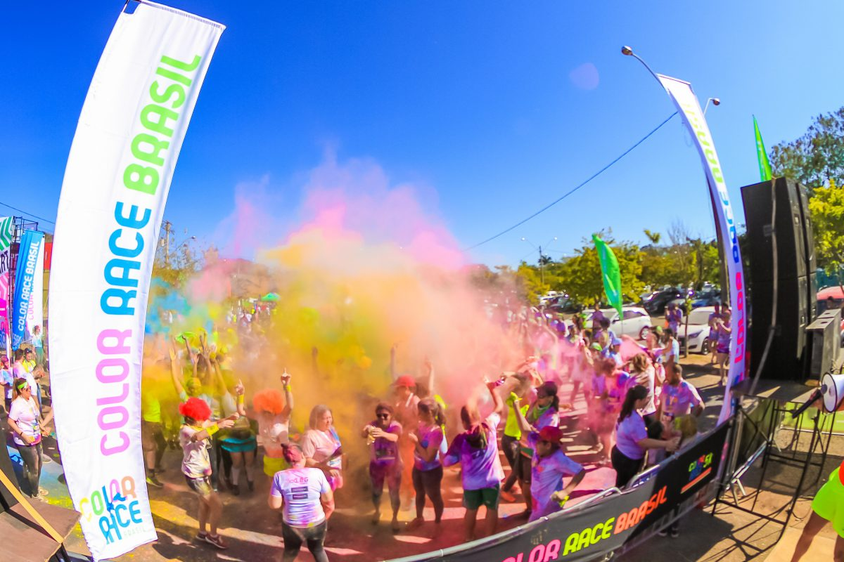 Color Race Brasil chega a São Paulo e Rio de Janeiro em outubro