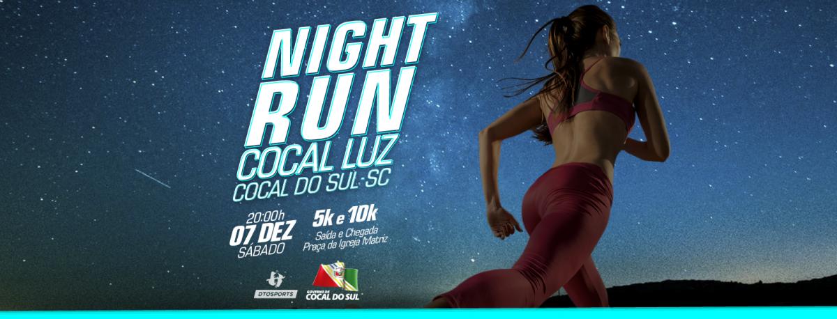 Night Run Cocal Luz: corrida une esporte com a magia no natal em SC