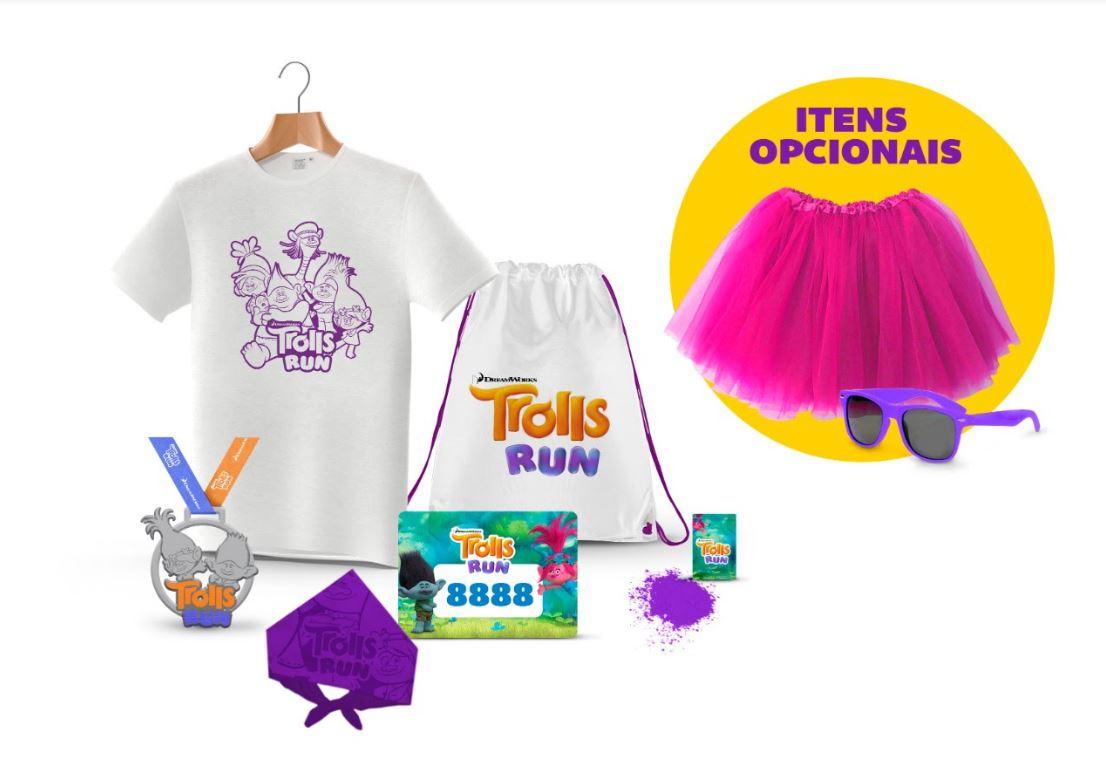 Vem aí a 1ª edição da Trolls Run, a corrida que vai trazer uma explosão de cores e alegria