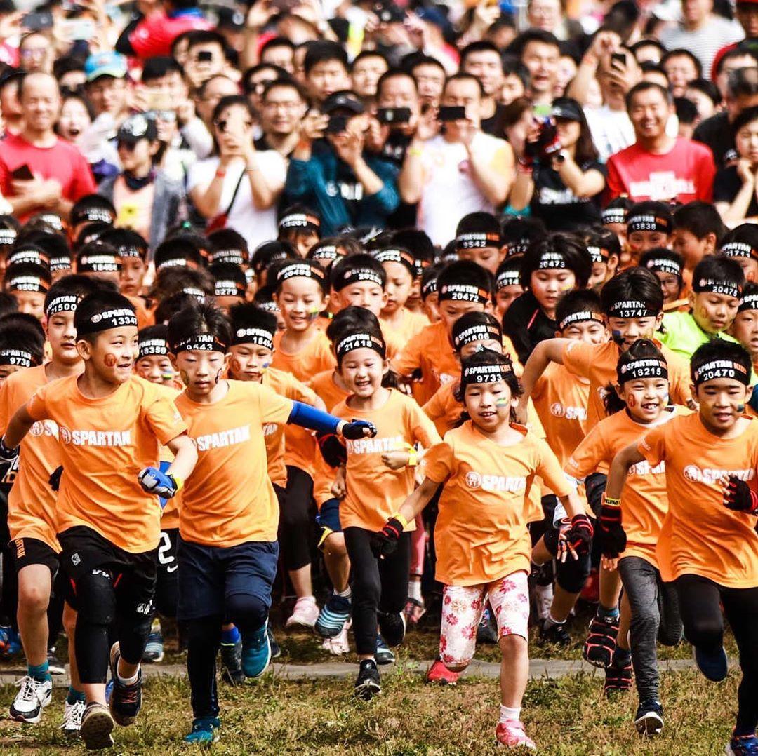 Spartan Kid's Race é opção divertida para o dia das crianças em SP - Foto: Reprodução/Instagram
