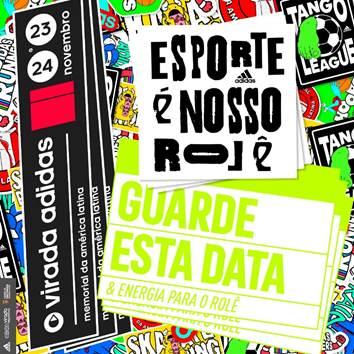 Virada Esportiva: Adidas promove dois dias de esporte em São Paulo